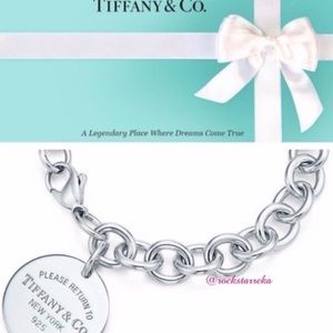 Authentic TIFFANY & CO Round Tag Bracelet
